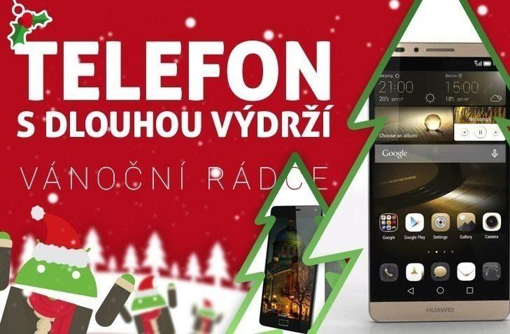 Vánoční rádce nahledovy obrazek – telefon s dlouho vydrzi (2)