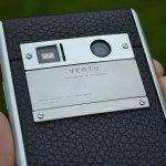 Vertu Aster – fotoaparát, štítek (3)