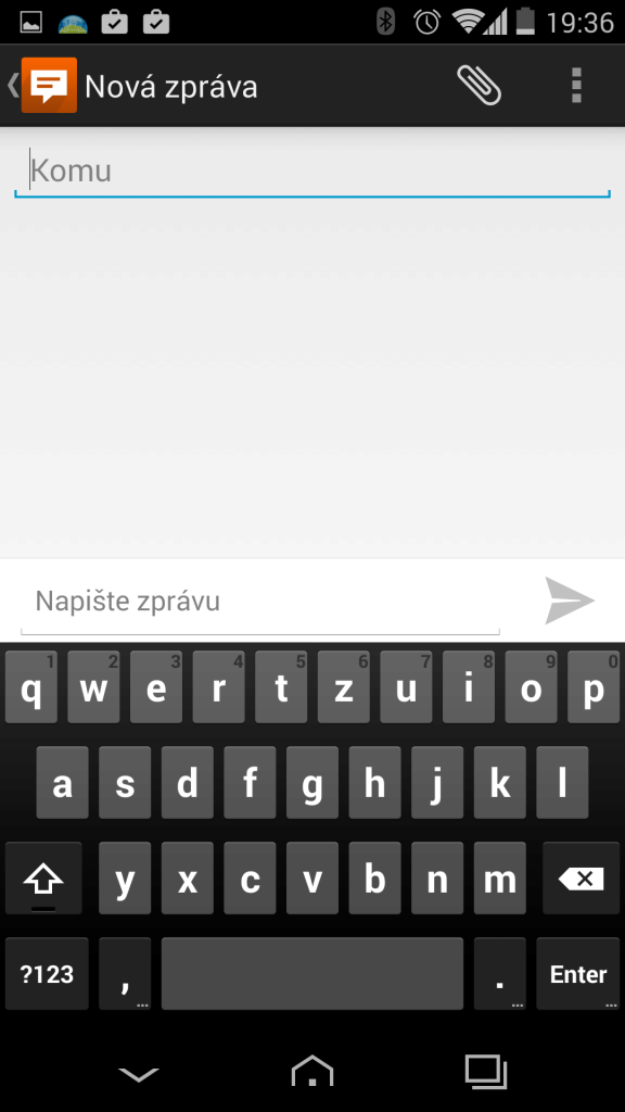 Vertu Aster - klávesnice