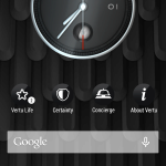 Vertu Aster –  prostředí systému Android (2)