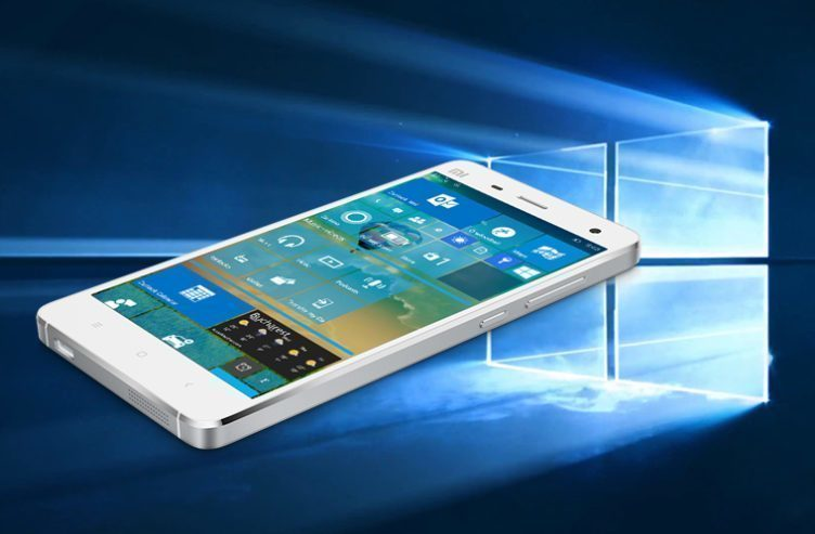 Windows 10 a Xiomi Mi4 - náhleďák