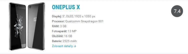 android katalog oneplus x