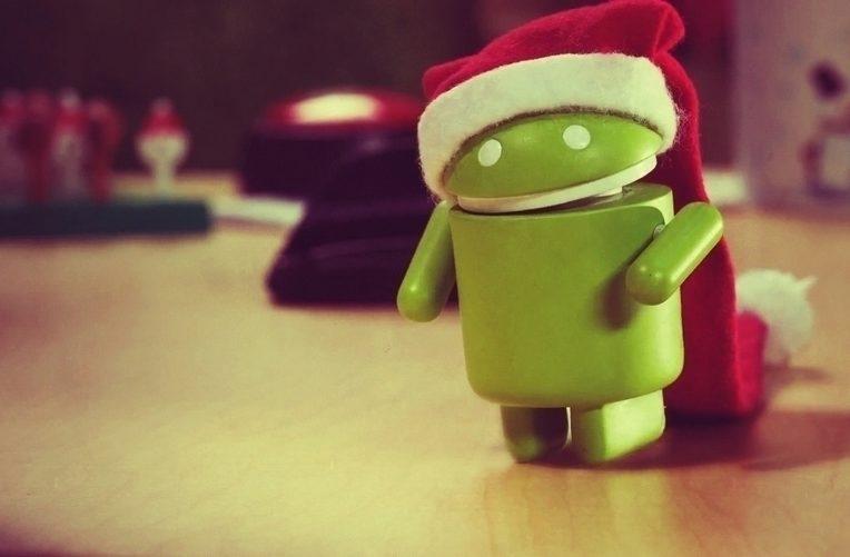 android vyhledávání vánoce