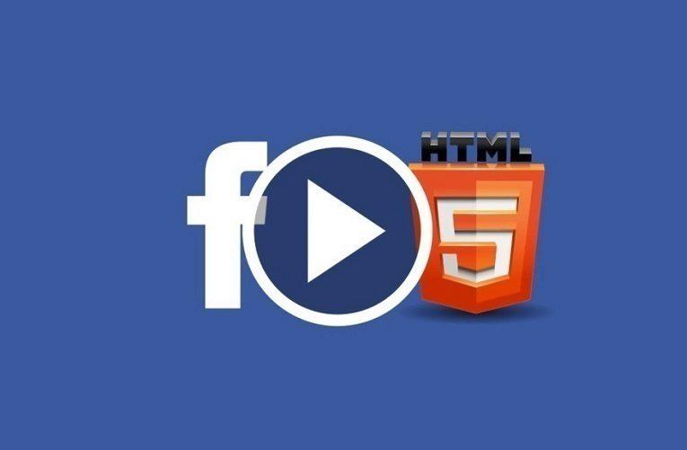 facebook html5 nahled