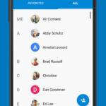 Nová aplikace Kontakty