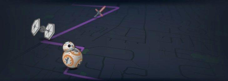 V mapě budete moci sbírat objekty ze Star Wars