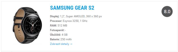 samsung gear s2 - widget do katalogu