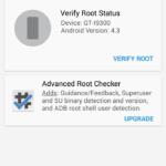 Kontrola práv roota pomocí aplikace Root Checker