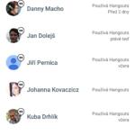 Redesignovaný seznam uživatelů