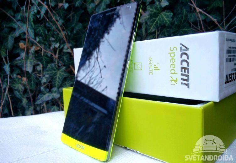 Accent speed X1 - telefon