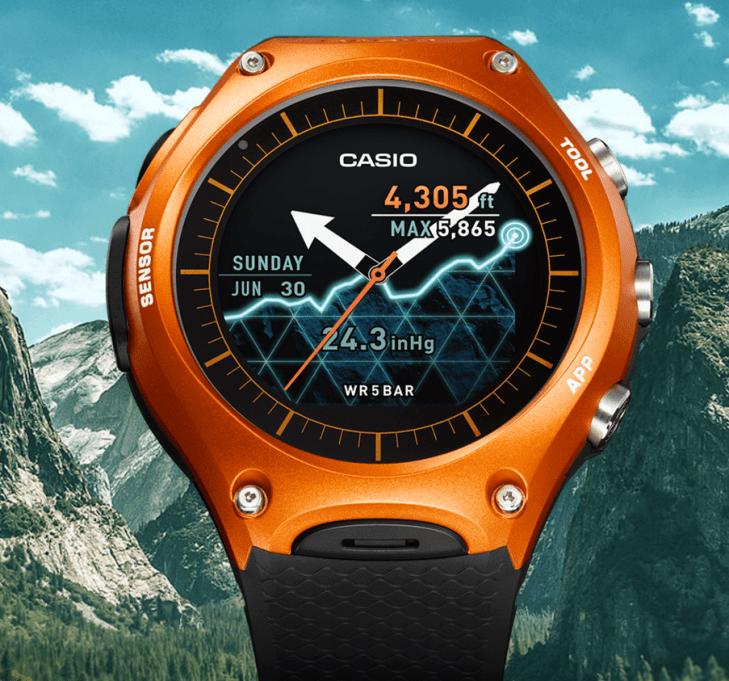 Casio WSD-F10 smartwatch 1