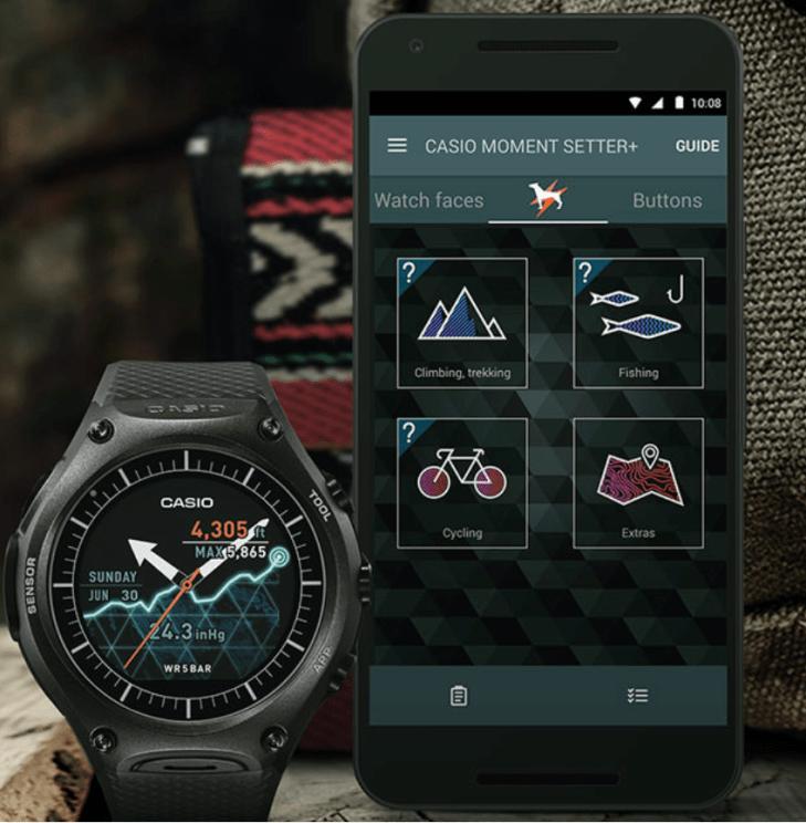 Casio WSD-F10 smartwatch 2