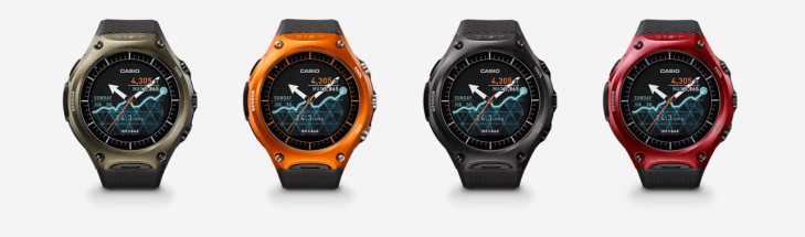 Casio WSD-F10 smartwatch 3