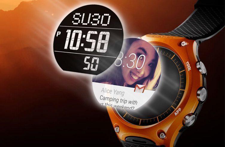 Casio WSD-F10 smartwatch – náhleďák