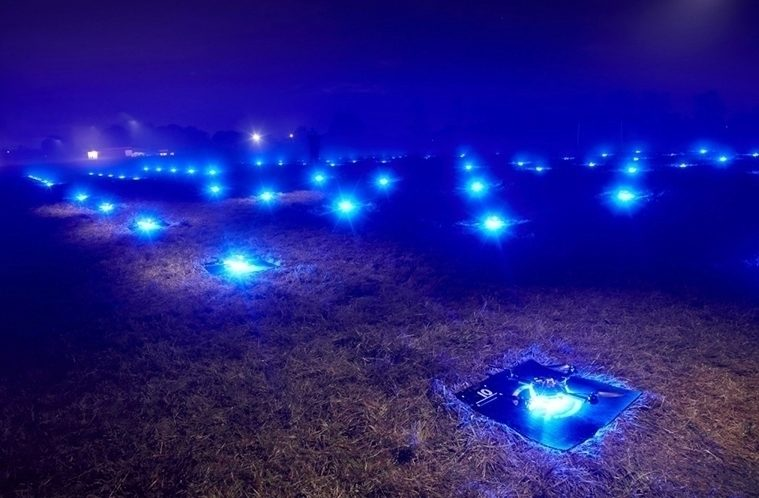 Drony od Intelu trhyl rekord – náhleďák