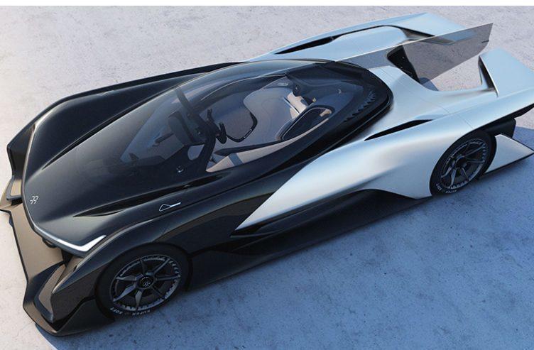 Faraday Future FFZERO koncept - náhleďák