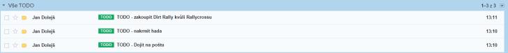Takto vypadá Gmailový úkolníček v podání Honzy Dolejše