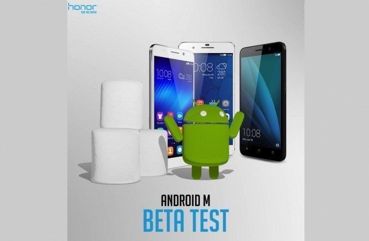 Android 6.0 na zařízeních Honor