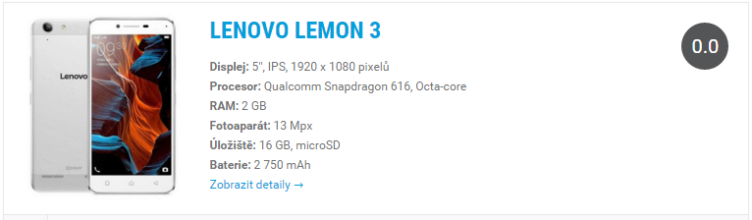 Lenovo Lemon