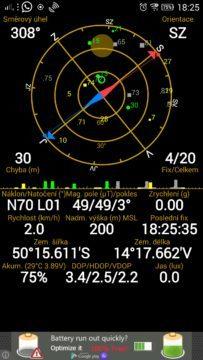 Lenovo Vibe Z2 Pro - GPS satelity