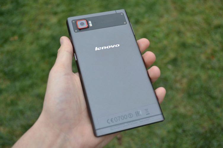 Lenovo Vibe Z2 Pro - zadní strana telefonu (1)