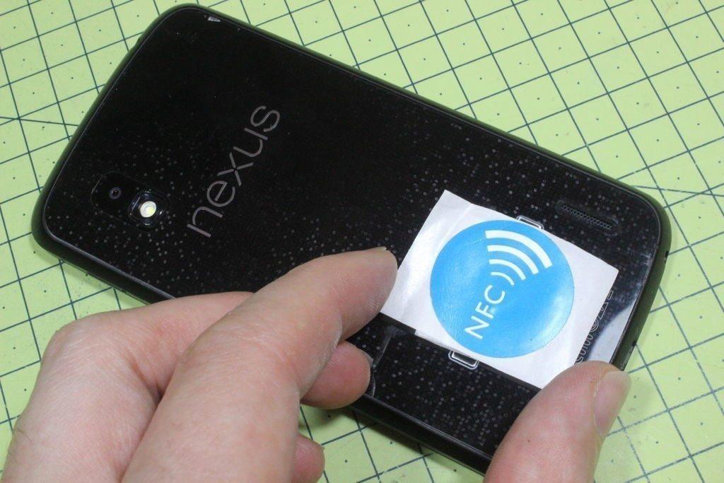 NFC štítek