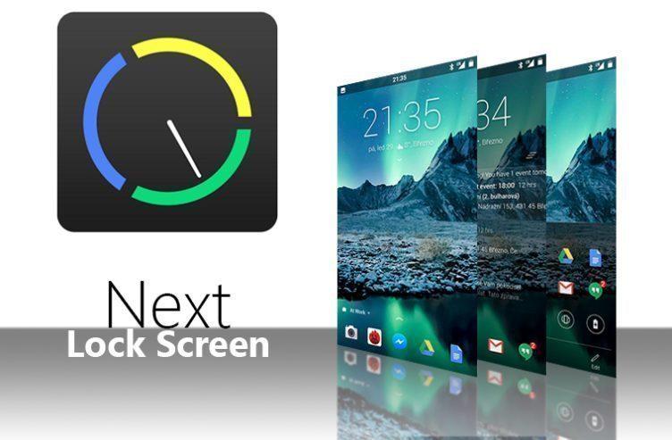 Next Lock Screen – náhleďák