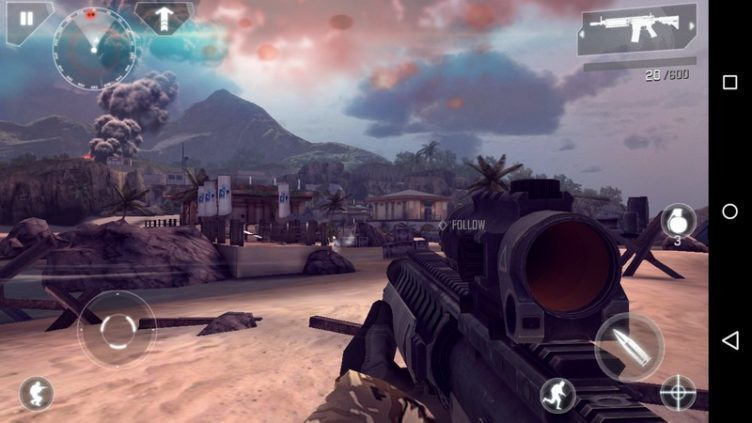 Nexus 6 - Modern Combat 4
