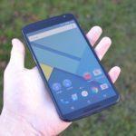 Nexus 6 – přední strana telefonu (6)