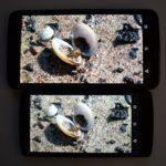 Nexus 6 vs. Nexus 5 srovnání – displej (1)