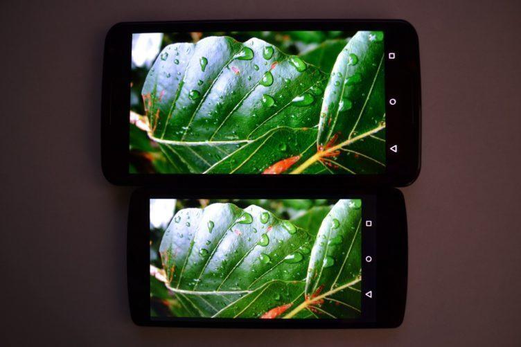 Nexus 6 vs. Nexus 5 srovnání - displej (19)