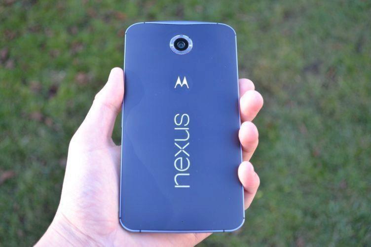 Nexus 6 - záda telefonu (2)