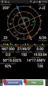 Samsung Galaxy A5 -  GPS satelity