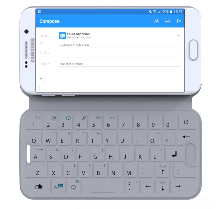 Obal SlimType s QWERTY klávesnicí