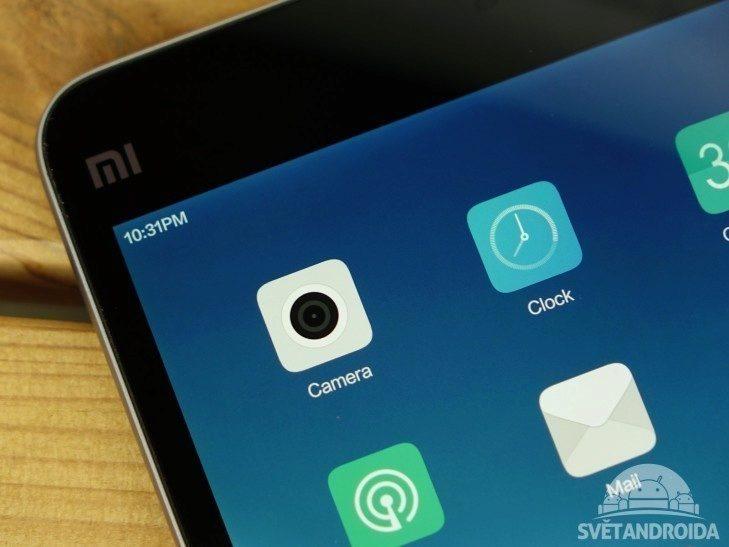 Xiaomi Mi Pad 2 - konstrukce, displej (1)