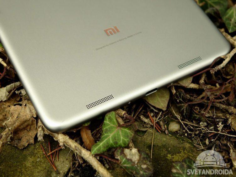Xiaomi Mi Pad 2 - konstrukce, reproduktor 2