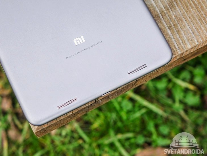 Xiaomi Mi Pad 2 - konstrukce, reproduktory