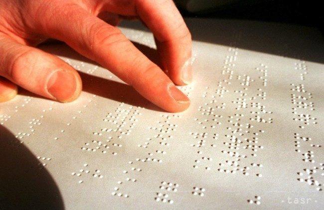 braillovo písmo tablet vědci