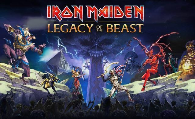 iron maiden legacy of the beast - android hra