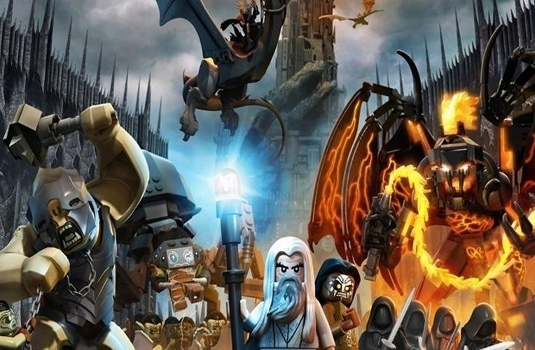 lego lord of the rings Pán prstenů