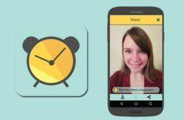 Aplikace Microsoft Mimicker Alarm: ranní vstávání s legračními obličeji