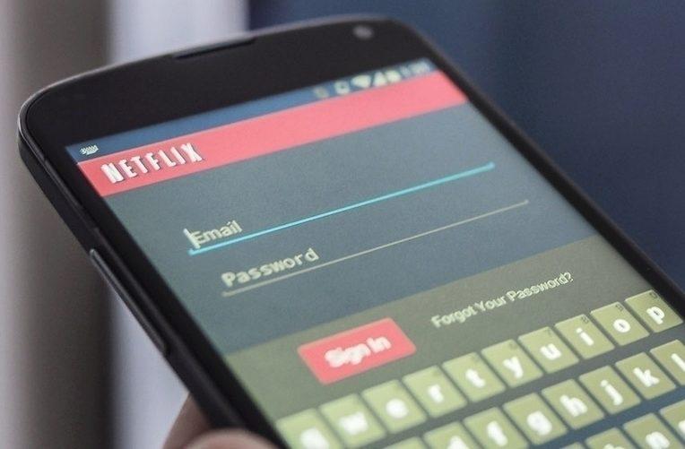 netflix android aplikace náhled