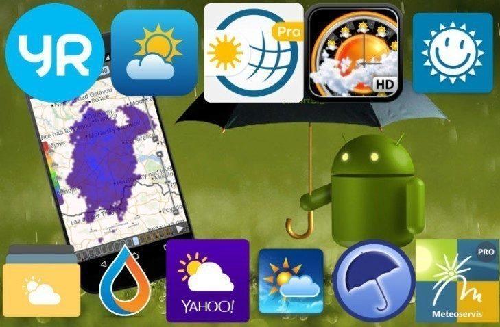 V Obchodě Play najdete desítky meteo aplikací