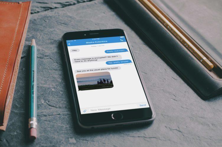 Na šifrovaných zprávách CyanogenMod spolupracoval s Open Whisper Systems