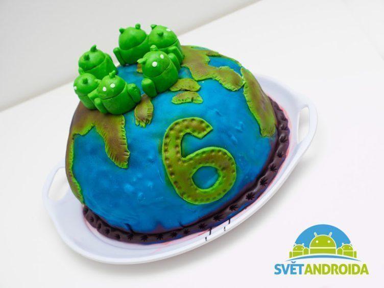 svět androida 6 narozeniny