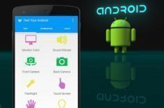 test your android aplikace