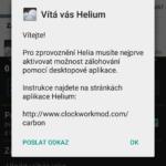 Záloha aplikací Helium
