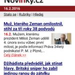 News – Denní zprávy