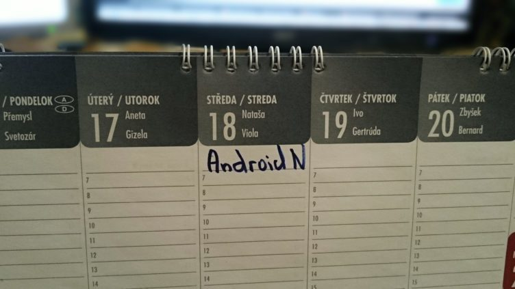 V kalendáři si poznačte 18. květen