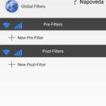 Globální filtry